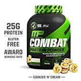 MusclePharm Combat Protein Powder, Essential Whey Protein Powder, Isolate Whey Protein, Casein and Egg Protein with...