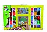 Simba 106377467 - Art & Fun Großes Bügelperlenset mit 6.000 Bügelperlen