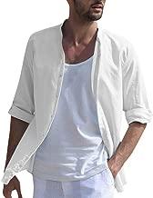 DAY8 T Shirt Herren Langarmshirt Freizeit Hemden Poloshirt T-Shirts Outfits Unisex Kurzarm Lässig Button Down Kurzarm Khaki, Schwarz, Weiß, Navy M/L/XL/XXL/XXXL