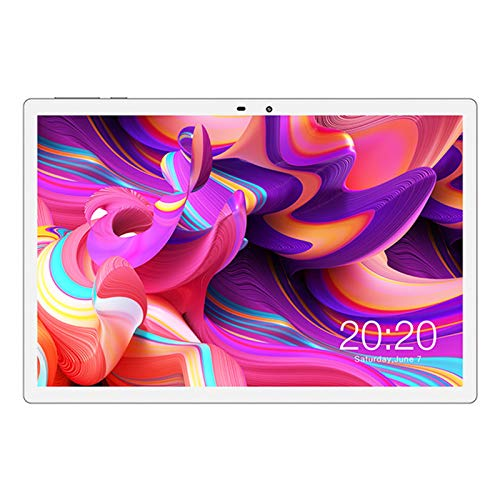 Stool Tableta Octa-Core De 10.1 Pulgadas Android 10.0 OS 1920X1200 IPS HD Pantalla 4G Llamada Telefónica 4GB RAM 128GB ROM Cámaras Duales GPS WiFi Bluetooth