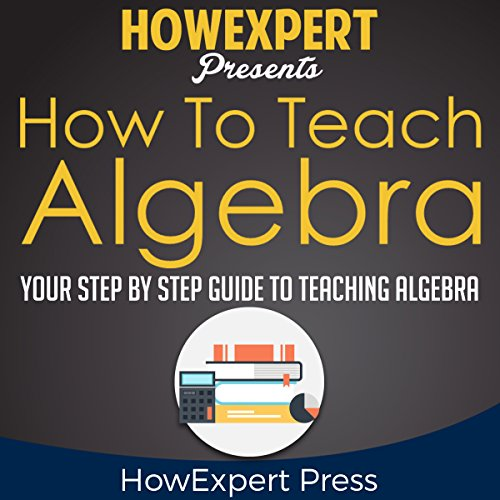 How to Teach Algebra audiobook cover art