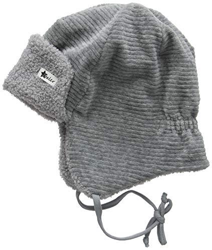 Sterntaler Baby-Jungen Fliegermütze Mütze, Grau (Eisengrau 577), 45