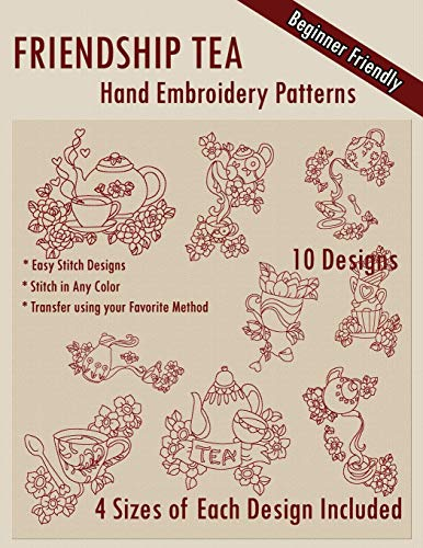 Find Discount Friendship Tea Hand Embroidery Patterns