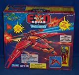 EXO SQUAD Thrax Exclusive Action Figure with Neofighter Space E-Frame (1994 Playmates)