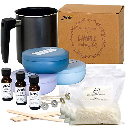 Nature's Blossom Candle Making Supplies Kit