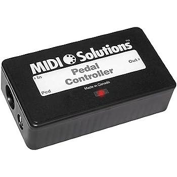 MIDI Solutions Continuous MIDI Data Pedal Controller