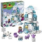 LEGO DUPLO Princess Il Castello di Ghiaccio di Frozen, Set con Mattoncino Luminoso, Mini-doll della Principessa Elsa e di Anna e Figura del Pupazzo di Neve, per Bambini e Bambine di 2 anni, 10899
