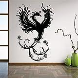 Tddimc Phoenix Wall Decal Ancient Animal Vinyl Sticker Fantasy Art Decoration Home Room Bedroom Decoration 110x169cm