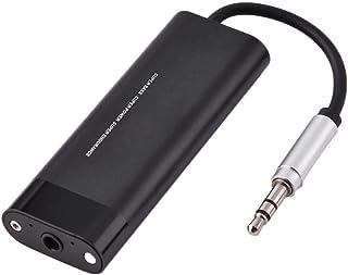 Tosuny Amplificador de Auriculares, Amplificador AUX de 3,5 mm Reproductor de Audio Digital para teléfono Inteligente con función de reducción de Ruido