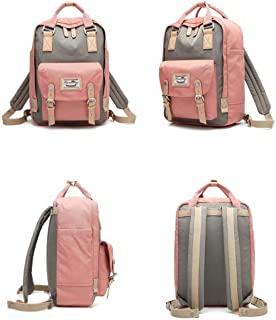 Donut Canvas Bag Female College Wind Small Backpack Student Bag