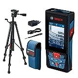 Bosch Professional télémètre laser GLM 120 C (caméra intégrée, transfert de données Bluetooth, 0,08 – 120 m , dragonne, câble micro-USB et chargeur, housse de protection, trépied)