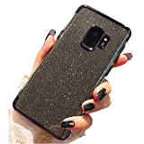 Miagon 2-1 Coque Glitter pour {Huawei Y6 2018},Bling Brillant Ultra Mince Placage Technologie Cadre...