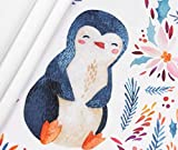 Panel French Terry Happy Penguin - aquarell Eigendruck