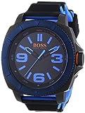BOSS Orange Herren-Armbanduhr XL Sao Paulo Analog Quarz Silikon 1513108
