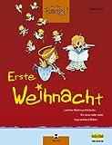 Barbara Ertl: Jede Menge Flötentöne - Erste Weihnacht inkl. CD, 33 leichte Weihnachtslieder für 2 Sopranblockflöten [Musiknoten] -