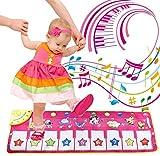 HYZY Manta Tap Dance Mat Aprendizaje Piano Animal Music Manta Infantil Niños Bebé Lindo Animal De Juguete Juego De Música