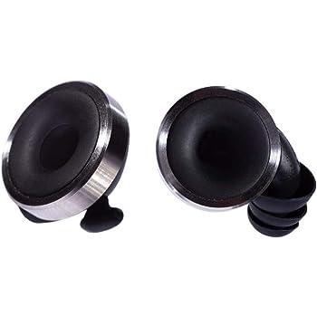 Knops Original Black - Protezione per le orecchie con 4 diverse regolazioni di filtro
