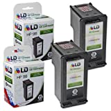 LD Remanufactured Ink Cartridge Replacements for HP 96 C8767WN High Yield (Black, 2-Pack)