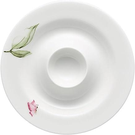 Preisvergleich für Rosenthal 61040-414124-15525 Jade Magnolie Eierbecher mit Ablage 13 cm