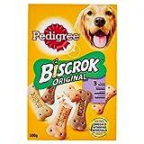 Pedigree, Biscrock Orginal, Biscotti croccanti per Cani in 3 gustose varietà - 500 g...