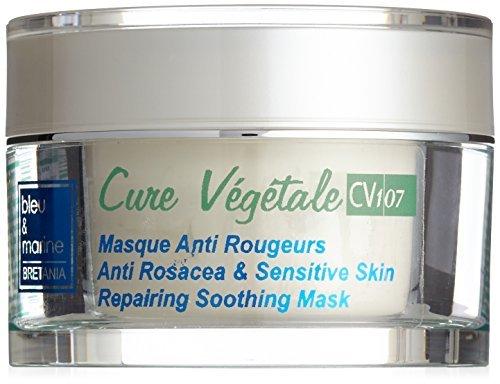 Anti Rosacea Gesichtsmaske (50ml) gegen Rosacea und Couperose, bei Hautentzündungen und roten Äderchen - made in Europe