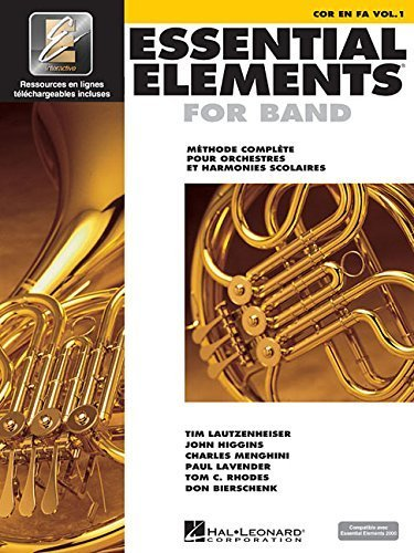 Essential Elements EE2000 French Horn: French Edition (2009-08-01)