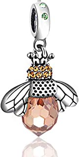مجوهرات جلوبالوين 925 فضة الخرز سحر الخرزة للنساء أساور الزركون القلب قلادة للأسوار قلادة diy مجوهرات اكسسوارات