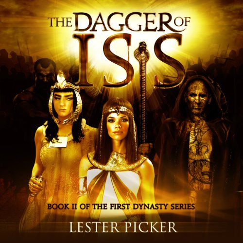 The Dagger of Isis audiobook cover art