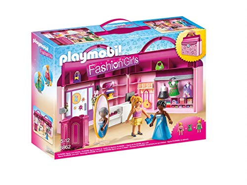 Playmobil- City Live Maletín Tienda de Moda, (6862)