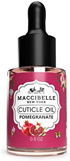 Maccibelle Cuticle Oil Pomegranate and Fig 0.5 oz Heals Dry Cracked Cuticles