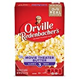 Orville Redenbacher's Movie Theater Butter Microwave Popcorn, (3 Count per bag of 3.29 Ounce each),...