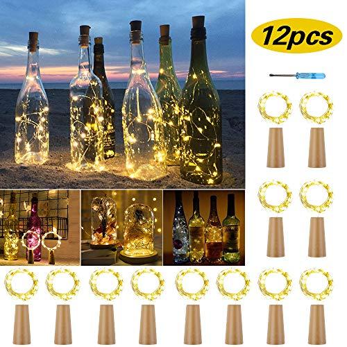 lampe aus glasflaschen