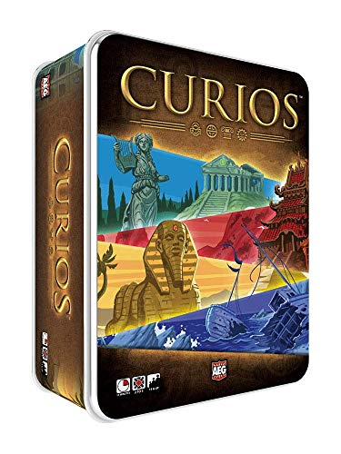 Alderac Enertainment Group (AEG) CURIOS - The Curiously Cool Board Game of Treasure Hunting Fun