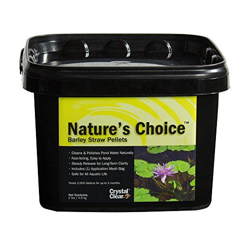 CrystalClear Nature's Choice Barley Straw Pellets - Natural Pond Treatment - 2...