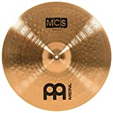 """Meinl 20"""" Ride Cymbal – MCS Traditional Finish Bronze for Drum Set, Made In Germany, 2-YEAR..."""