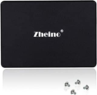 Zheino SSD 120gb C3 2.5 inch Sata III 3D Nand SSD Hard Drive Internal Solid State Drive (7mm) for Notebook Desktop PC