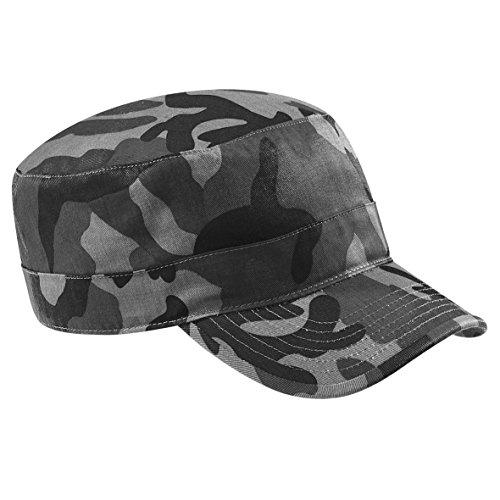 Beechfield - Casquette armée à motif camouflage 100% coton - Adulte unisexe (Taille unique) (Urbain)