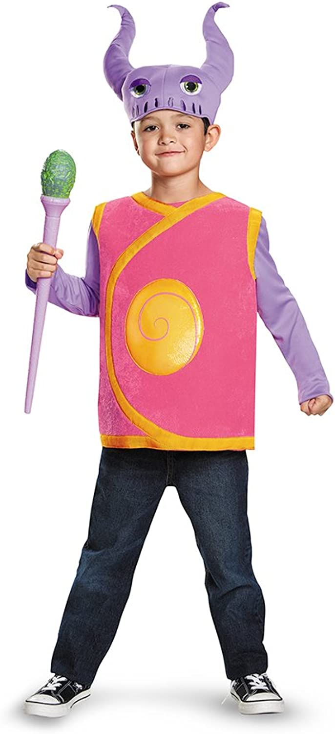 Disguise Captain Smek Deluxe Costume, Medium (7-8)
