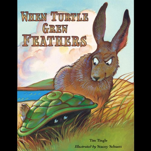 When Turtle Grew Feathers audiobook cover art