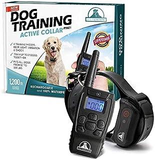 Best Pet Union PT0Z1 Premium Dog Training Shock Collar, Fully Waterproof, 1200ft Range Review
