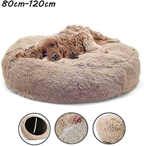 YLCJ slaapzak, zacht en warm pluche, comfortabel om te slapen in de winter, afneembaar, gemakkelijk te reinigen, machinewasbaar en antislip, 120 cm, 110 cm