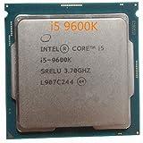 i5-9600K Processor i5 9600K CPU SRELU 6Core 6Thread 3.7GHz 9MB 14nm 95W FCLGA1151