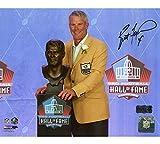 Brett Favre Autographed/Signed Green Bay Unframed 8x10 Photo - Hall of Fame Speech