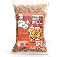 Cebolla asada premium baja en grasa - para condimentar / cocinar / decorar - lista para usar. Cebolla asada premium MAISTRO 500g
