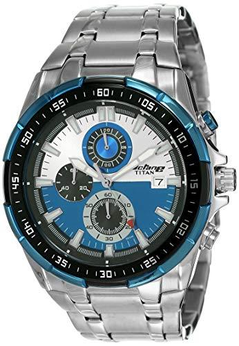 Titan Chronograph Multi-Colour Dial Men's Watch NM90044KM03/NN90044KM03