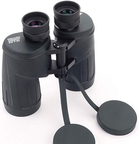 JumellesTT 10x50 Jumelles HD étanche Anti-buée Haute Basse lumière Vision Nocturne portatif extérieur