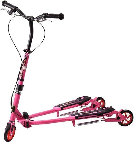 Dreiradscooter mit einem Klick Folding Adjustable Design Scooter für 5-14 J ige