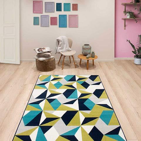 alfombra verde de la marca Tekno Step