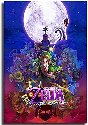 EDZXC-Anime La Leyenda de Zelda,Puzzles 1000 Piezas Adultos Rompecabezas,Educativo Intelectual...