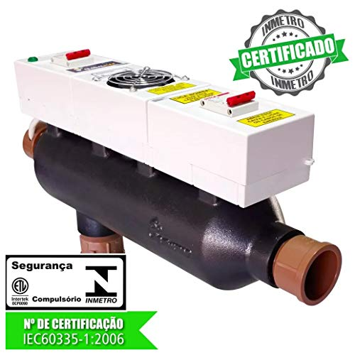 AQUECEDOR PISCINA GLOBAL 80 TRIFÁSICO MANUAL 16KW 380V